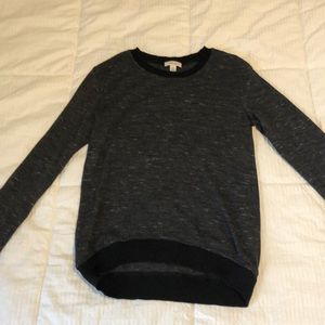 Aritzia Wilfred size XS grey and black sweater
